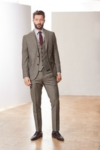 Empire Mills Signature Check Suit: Jacket