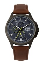 Superdry Brown Strap Watch