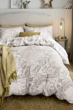 Brushed Cotton Woodland Owl Duvet Cover And Pillowcase Set