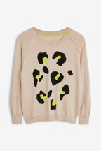 Next/Mix Leopard Jumper