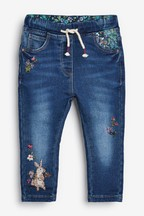 Character Embroidered Jeans (3mths-7yrs)