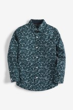 Long Sleeve Ditsy Printed Shirt (3-16yrs)