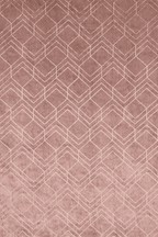 Velvet Metallic Geo Curtain Fabric Sample
