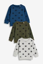 Crews Stars Three Pack (3mths-7yrs)