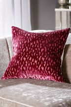 Harper Cut Velvet Geo Cushion