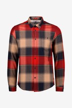 Barbour® Navy/Red Check Joseph Shirt