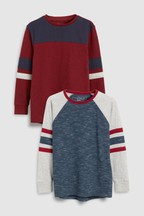 Colourblock T-Shirts Two Pack (3-16yrs)