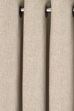 Chenille Eyelet Curtains Fabric Sample