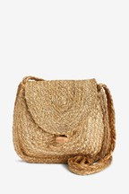 Jute Across-Body Bag