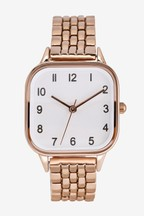 Square Case Bracelet Watch