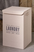 Laundry Sign Hamper