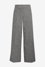 Emma Willis Dogtooth Wide Leg Trousers
