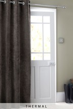 Soft Velour Door Curtain