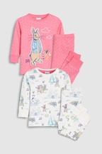 Peter Rabbit Snuggle™ Pyjamas Two Pack (9mths-8yrs)