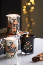Set of 3 Orange & Star Anise Candles