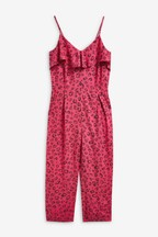 Frill Layer Jumpsuit