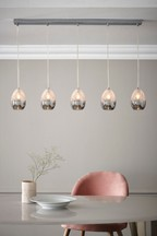 Isla 5 Light Linear Pendant