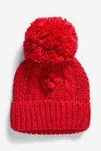 Cable Beanie Hat (Younger)