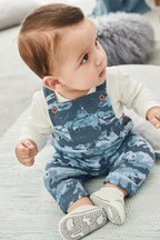 Camouflage Dungarees And Bodysuit Set (0mths-2yrs)