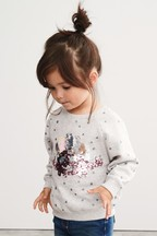 Sequin Dino Sweater (9mths-7yrs)