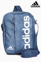 adidas Blue Marl Linear Bag