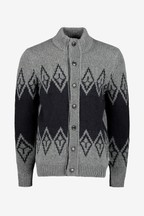 Barbour® Grey Snowden Cardigan