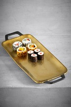 Gold Speckle Serve Tray