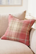 Stirling Woven Check Cushion
