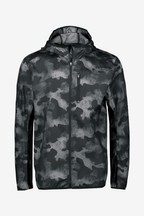 adidas Own The Run Charcoal Jacket