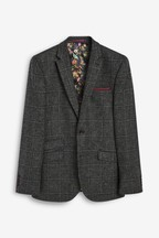 Moons British Wool Signature Check Blazer