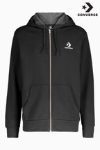 Converse Star Chevron Zip Through Hoody