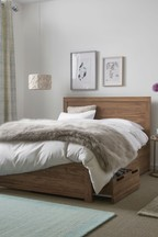Ohara Two Drawer Bed