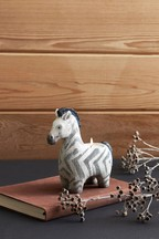Ziggy The Zebra Tea Light Holder