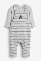 Star Dungarees And Bodysuit Set (0mths-2yrs)