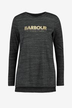 Barbour® International Charcoal Marl Island Top