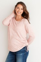 Maternity Rouche Side Sweater