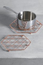 Set of 2 Geo Trivets