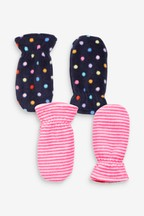 2 Pack Mittens (Younger)