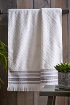 Bronx Striped Towel