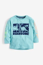 Long Sleeve Roarsome Dino T-Shirt (3mths-7yrs)