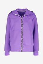 Nike Pro Purple Zip Through Training Hoody