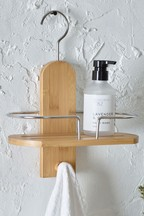 Bamboo Bathroom Shower Shelf