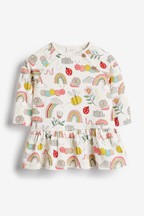 Caterpillar Print Jersey Dress (0mths-2yrs)