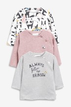 Panda T-Shirts Three Pack (0mths-2yrs)