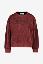 Replay® Logo Metallic Sweatshirt