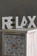 Relax Word Block