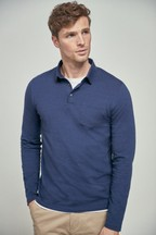 Long Sleeve Regular Fit Polo