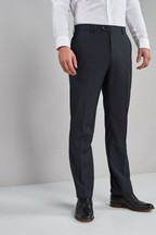 Stretch Plain Front Trousers