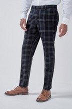Tartan Check Skinny Fit Trousers