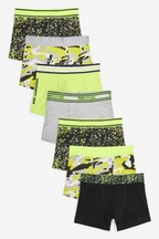 7 Pack Camouflage Trunks (2-16yrs)